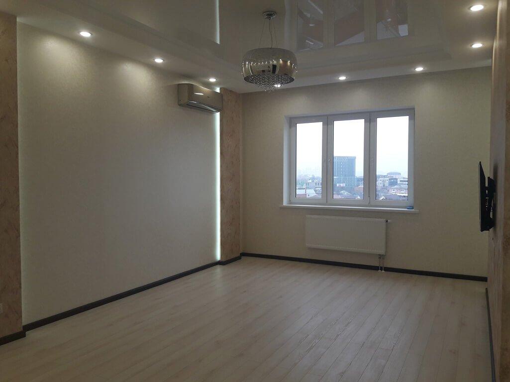 Дизайн-проект однокомнатной квартиры 47 кв м в ЖК